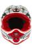 bluegrass Intox Cykelhjälm DH svart/röd/vit